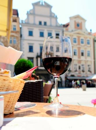 red wine in Italy background by ddrccl on stockxchng